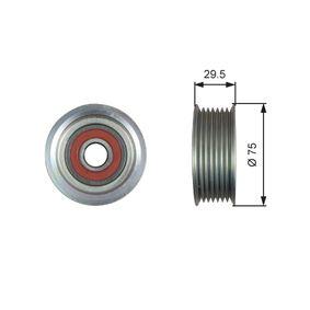 Szíjtárcsa / vezetőgörgő, hosszbordás szíj Külső átmérő: 75mm T36447