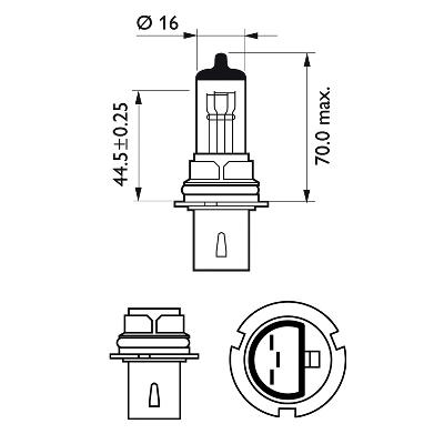 Bulb, spotlight PHILIPS 47074430 rating