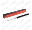 Federbein STARK 7709151 Hinterachse, Einrohr, Gasdruck, Teleskop-Stoßdämpfer, oben Stift, unten Auge