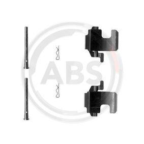 Accessory Kit, disc brake pads 1273Q PANDA (169) 1.2 MY 2012