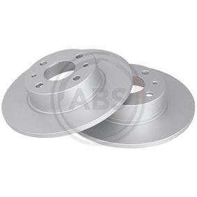 LANCIA Delta III (844) 1.4 Bifuel Bremsscheiben A.B.S. 15049 (1.4 Bifuel Benzin/Autogas (LPG) 2012 198 A4.000)