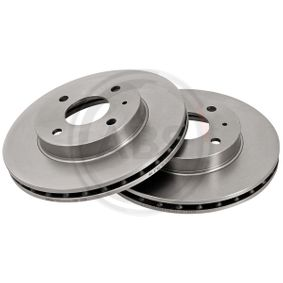 Bremsscheibe Bremsscheibendicke: 22mm, Felge: 4-loch, Ø: 239mm mit OEM-Nummer 60514881