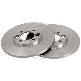 Bremsscheibe Bremsscheibendicke: 12,7mm, Felge: 4-loch, Ø: 264,0mm mit OEM-Nummer C46113
