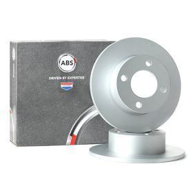 A.B.S. Bremsscheibe 15749 für AUDI 80 Avant (8C, B4) 2.0 E 16V ab Baujahr 02.1993, 140 PS