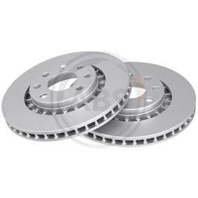 Bremsscheibe Bremsscheibendicke: 23,9mm, Felge: 4-loch, Ø: 256mm mit OEM-Nummer 90250546