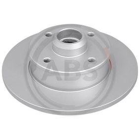 Bremsscheibe Bremsscheibendicke: 10,0mm, Felge: 4-loch, Ø: 226,0mm mit OEM-Nummer 191.615.601B