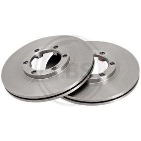Bremsscheibe Bremsscheibendicke: 22mm, Felge: 6-loch, Ø: 257mm mit OEM-Nummer 8 94372 435 0