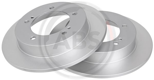 A.B.S.  15988 Disco de freno Espesor disco freno: 10mm, Llanta: 5Taladro(s), Ø: 290mm