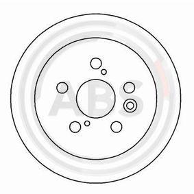 Disque de frein Epaisseur du disque de frein: 10mm, Jante: 5Trou, Ø: 269mm avec OEM numéro 42431-20320