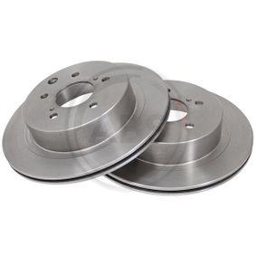 Bremsscheibe Bremsscheibendicke: 18mm, Felge: 5-loch, Ø: 296mm mit OEM-Nummer 43206-20U00