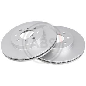 Спирачен диск 16039 25 Хечбек (RF) 2.0 iDT Г.П. 2002