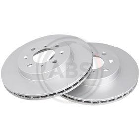 Спирачен диск дебелина на спирачния диск: 21мм, джанта: 4-дупки, Ø: 262мм с ОЕМ-номер 45251SK7A00