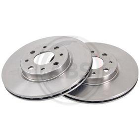 Bremsscheibe Bremsscheibendicke: 20mm, Felge: 4-loch, Ø: 257mm mit OEM-Nummer 5174 9124