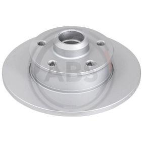 Bremsscheibe Bremsscheibendicke: 10,0mm, Felge: 5-loch, Ø: 226,0mm mit OEM-Nummer 191 615 601