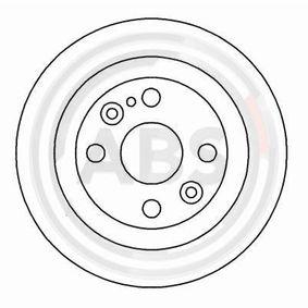 1999 Mazda MX 5 NB 1.6 16V Brake Disc 16088