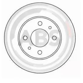 Bremsscheibe Bremsscheibendicke: 14,0mm, Felge: 4-loch, Ø: 257,0mm, Ø: 257,0mm mit OEM-Nummer 82 434 169