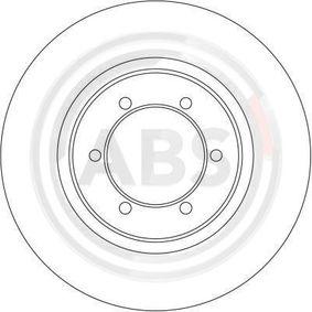 Brake Disc Brake Disc Thickness: 24mm, Rim: 6-Hole, Ø: 276mm with OEM Number MR129648