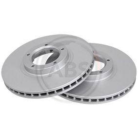 Bremsscheibe Bremsscheibendicke: 24,3mm, Felge: 5-loch, Ø: 254mm mit OEM-Nummer 5 029 815