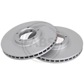 Bremsscheibe Bremsscheibendicke: 24,3mm, Felge: 5-loch, Ø: 254mm mit OEM-Nummer 5 025 610