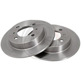 Bremsscheibe Bremsscheibendicke: 7mm, Felge: 4-loch, Ø: 234mm mit OEM-Nummer 4320658Y02