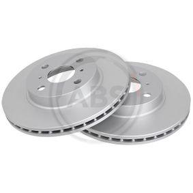 Bremsscheibe Bremsscheibendicke: 22mm, Felge: 4-loch, Ø: 255mm mit OEM-Nummer 43512 12550