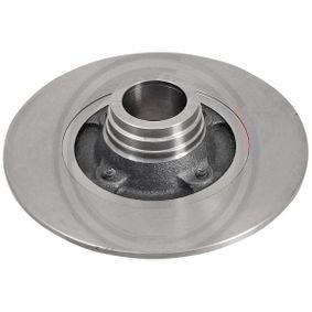 Bremsscheibe Bremsscheibendicke: 8mm, Felge: 4-loch, Ø: 238mm mit OEM-Nummer 77 01 204 302