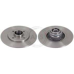 Bremsscheibe Bremsscheibendicke: 8mm, Felge: 4-loch, Ø: 238mm mit OEM-Nummer 7701204302