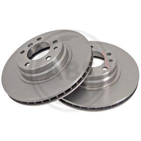 Bremsscheibe Bremsscheibendicke: 28mm, Felge: 5-loch, Ø: 316mm mit OEM-Nummer 34111162093