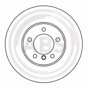 Bremsscheibe Bremsscheibendicke: 22mm, Felge: 5-loch, Ø: 296mm mit OEM-Nummer 34 111 164 839