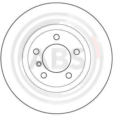 Bremsscheibe A.B.S. 16335 einkaufen