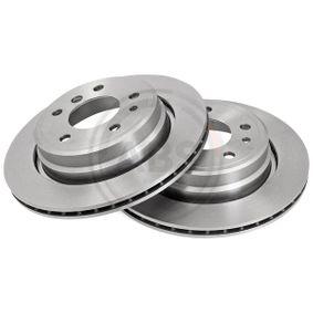 Bremsscheibe Bremsscheibendicke: 20mm, Felge: 5-loch, Ø: 300mm mit OEM-Nummer 3421 1 159 659