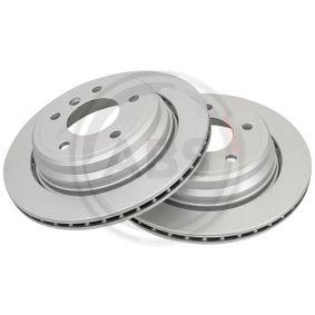 Bremsscheibe Bremsscheibendicke: 20mm, Felge: 5-loch, Ø: 298mm mit OEM-Nummer 34211163153