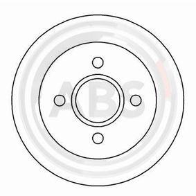 Brake Disc Brake Disc Thickness: 10,3mm, Rim: 4-Hole, Ø: 253mm with OEM Number 1514237