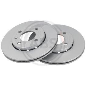 Bremsscheibe Bremsscheibendicke: 18,0mm, Felge: 4-loch, Ø: 239,0mm mit OEM-Nummer 6N0615301F