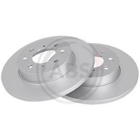 Спирачен диск дебелина на спирачния диск: 13мм, джанта: 4-дупки, Ø: 262мм с ОЕМ-номер SDB 100500