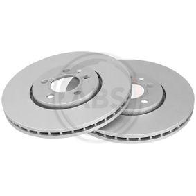 Bremsscheibe Bremsscheibendicke: 24,9mm, Felge: 5-loch, Ø: 288,0mm mit OEM-Nummer JZW615301D