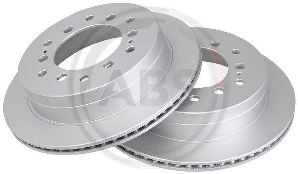 A.B.S.  16891 Disque de frein Épaisseur du disque de frein: 18mm, Jante: 6Trou, Ø: 312mm