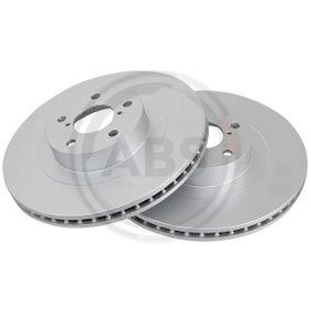 Bremsscheibe Bremsscheibendicke: 24,0mm, Felge: 5-loch, Ø: 294,0mm mit OEM-Nummer 26300 FE040