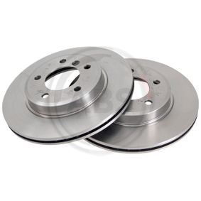 Bremsscheibe Bremsscheibendicke: 22mm, Felge: 5-loch, Ø: 300mm mit OEM-Nummer 3411 6766 224