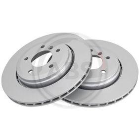 Bremsscheibe Bremsscheibendicke: 22mm, Felge: 5-loch, Ø: 320mm mit OEM-Nummer 34201166073