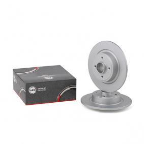 Bremsscheibe Bremsscheibendicke: 11mm, Felge: 4-loch, Ø: 274mm mit OEM-Nummer 7701206327