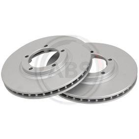 A.B.S. Brake disc kit Vented, Coated