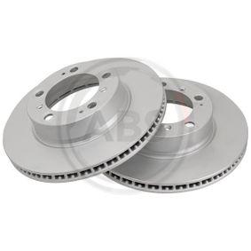 Bremsscheibe Bremsscheibendicke: 24mm, Felge: 5-loch, Ø: 298mm mit OEM-Nummer 986.351.401.05