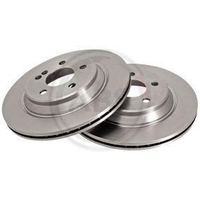 Bremsscheibe Bremsscheibendicke: 22mm, Felge: 5-loch, Ø: 300mm mit OEM-Nummer 220.423.0212