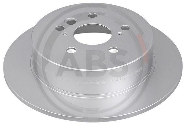A.B.S.  17172 Disco de freno Espesor disco freno: 9mm, Llanta: 5Taladro(s), Ø: 302mm