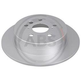 Brake Disc 17172 RAV 4 II (CLA2_, XA2_, ZCA2_, ACA2_) 2.4 4WD MY 2005