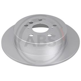 Brake Disc 17172 RAV 4 II (CLA2_, XA2_, ZCA2_, ACA2_) 2.0 D 4WD (CLA20_, CLA21_) MY 2004