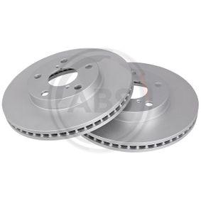Brake Disc 17183 RAV 4 II (CLA2_, XA2_, ZCA2_, ACA2_) 2.0 4WD (ACA21, ACA20) MY 2003