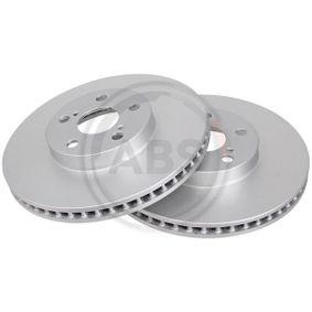 Disque de frein Epaisseur du disque de frein: 25mm, Jante: 5Trou, Ø: 275mm avec OEM numéro 43512-20710