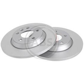 Bremsscheibe Bremsscheibendicke: 13,5mm, Felge: 5-loch, Ø: 294mm mit OEM-Nummer 7D0 615 601 A